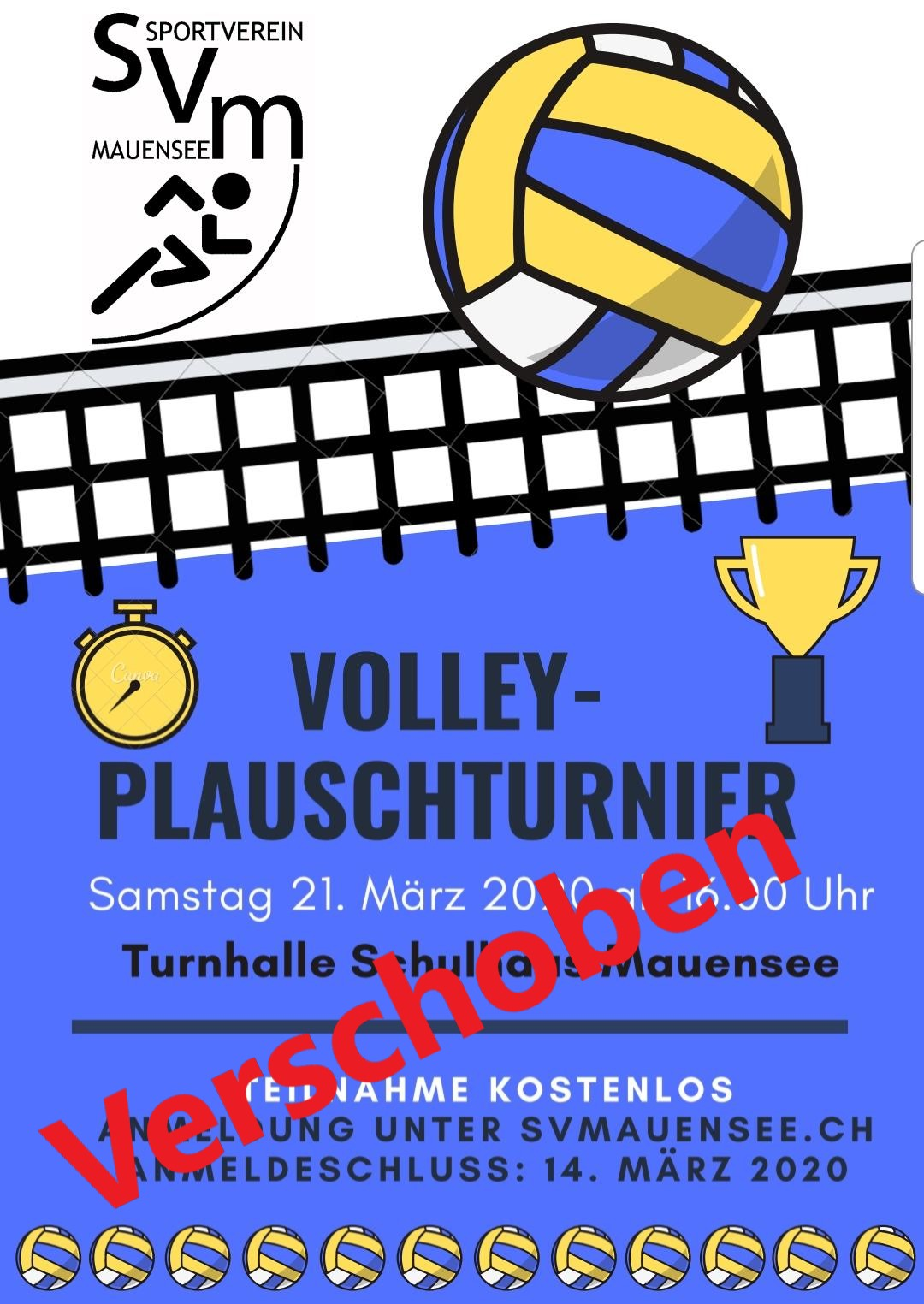 Volley-Plauschtournier